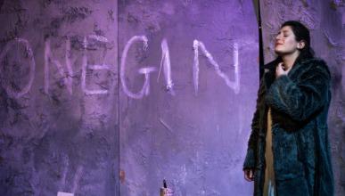 As Tatiana in Eugene Onegin, Cambridge University Opera Society. Photo: Jack Bazalgette
