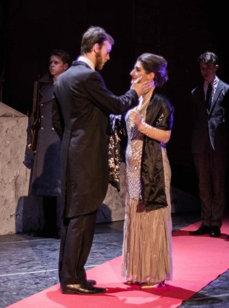 As Tatiana in Eugene Onegin, Cambridge University Opera Society. Photo: Jack Bazalgette