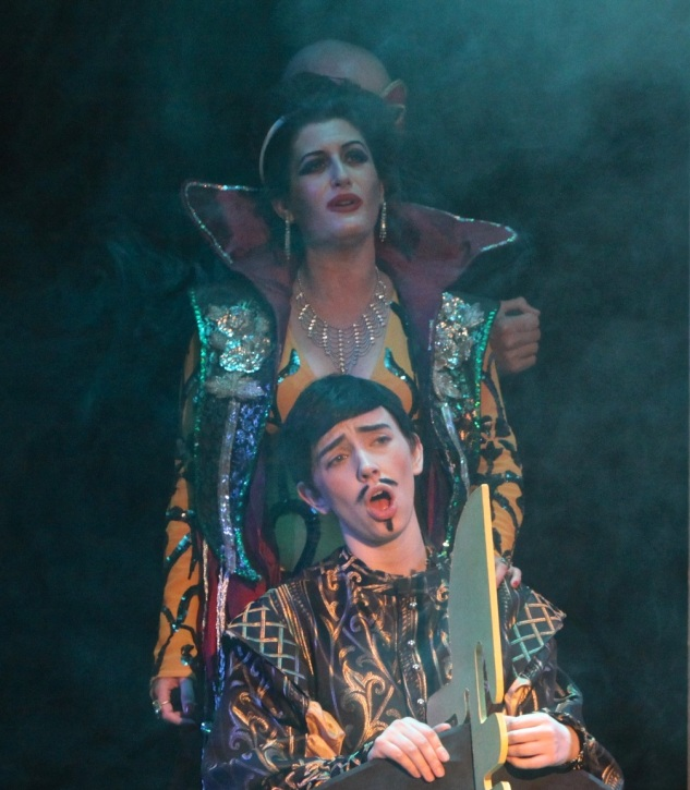 As Giulietta in The Tales of Hoffmann, Southgate Opera. Photo: www.XMO4.com