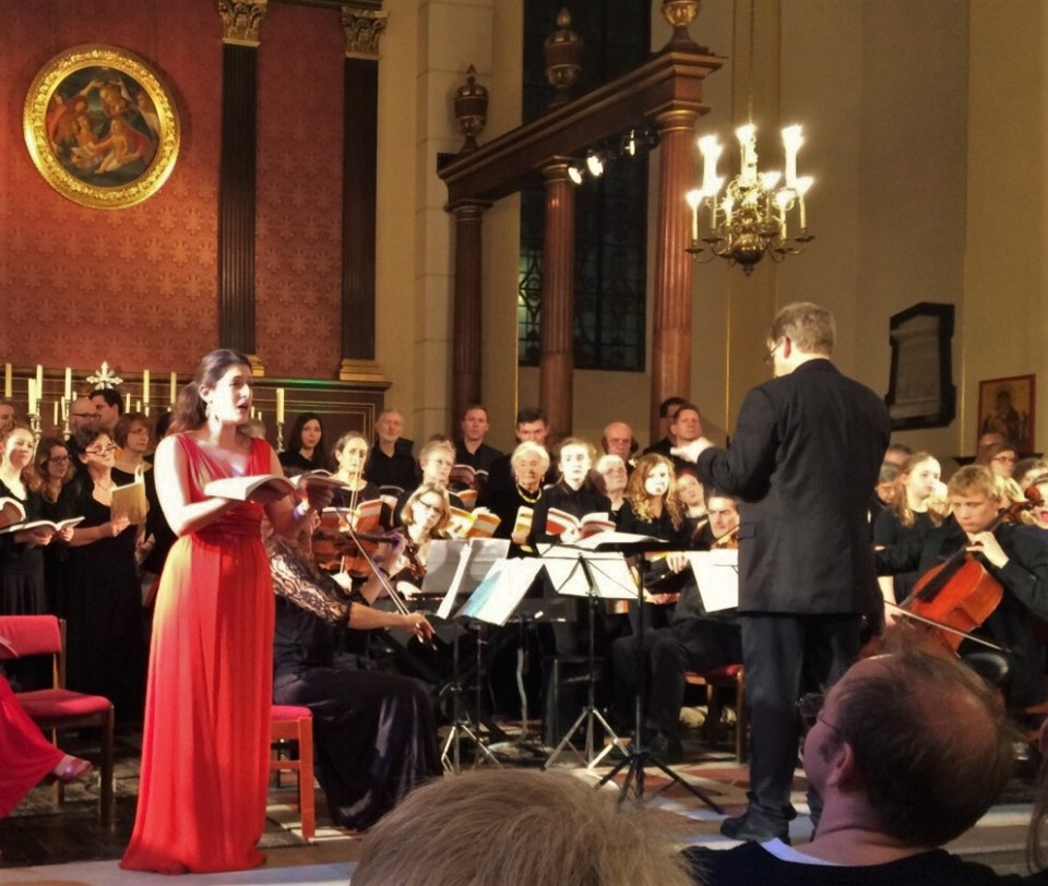 Performing in Handel's 'Messiah' with Eclectic Voices